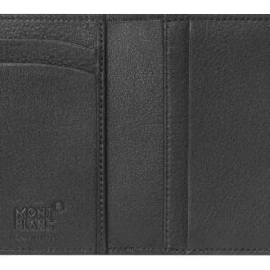 Meisterstück Sfumato Business Card Holder / Grey - Black Montblanc Jewels in Paradise Aruba 118360