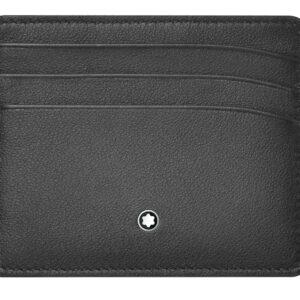 Meisterstück Sfumato Pocket Holder 6cc / Grey - Black Montblanc Jewels in Paradise Aruba 118365