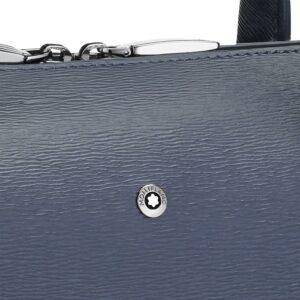 4810 Westside Slim Document Case / Blue - Grey- Montblanc- Jewels in Paradise Aruba- 118631