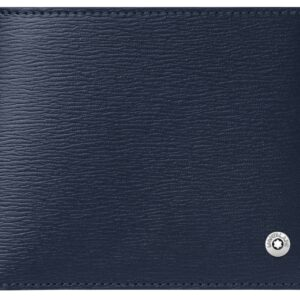 4810 Westside Wallet 6cc / Blue - Grey 118653 Montblanc Jewels in Paradise Aruba