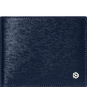 4810 Westside Wallet 6cc money clip small / Blue - Grey 118654 Jewels in Paradise Aruba Montblanc