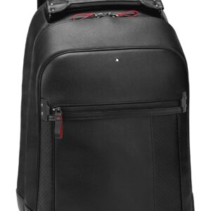 My Montblanc Nightflight Medium Backpack City Bag / Black - Grey- Jewels in Paradise Aruba- Montblanc-118708