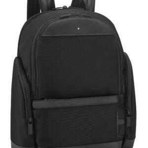 My Montblanc Nightflight Medium Backpack City Bag / Black - Grey- Montblanc- Jewels in Paradise Aruba