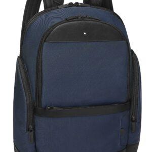 My Montblanc Nightflight Medium Backpack / Blue - Black - Grey Jewels in Paradise 124147