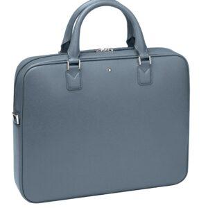 Montblanc Sartorial Slim Document Case / Denim Blue - Black- Jewels in Paradise Aruba - Montblanc- 124178
