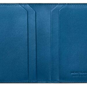 Meisterstück Urban Business Card Holder / Cobalt - Black Montblanc 124100 Jewels in Paradise Aruba