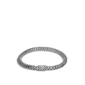 Tiga Classic Chain 6.5MM Bracelet in Silver John Hardy Jewels in Paradise Aruba BB90503