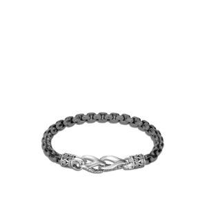 Asli Classic Chain Link 6MM Box Chain Bracelet in Silver John Hardy Jewels in Paradise Aruba BM90288SMBRD