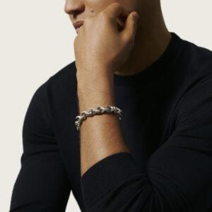 Asli Classic Chain 10.5MM Link Bracelet in Silver John Hardy Jewels in Paradise Aruba BM90452