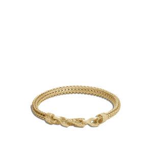 Asli Classic Chain Link 6.5MM Station Bracelet in 18K Gold John Hardy Jewels in Paradise Aruba BMG900020