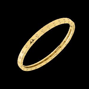 18k Gold Symphony Pois Moi Oval Bangle Roberto Coin Jewels in Paradise Aruba 7771358AYBA0