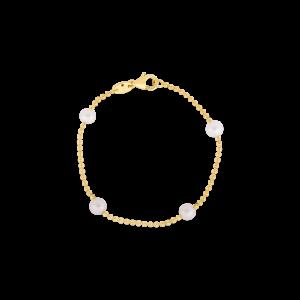 18k Yellow Gold Pearl Station Bracelet Roberto Coin Jewels in Paradise Aruba 7773114aylbop
